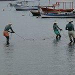 Foto de Escultura Os Três Pescadores