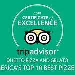Foto van Duetto Pizza and Gelato