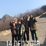 Great Wall trip with John