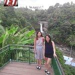 Rocky waterfalls of Tegenungan