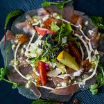 Carpaccio z tuńczyka (Tuna Carpaccio)