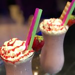 Fantastic Milkshakes with real fruit!