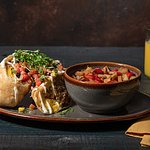 Pork Verde Chimichanga available at Bear Springs Bistro & Lounge.