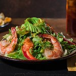 Seafood Salad available at Bear Springs Bistro & Lounge.