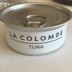 """amuse bouche """"Tuna la Colombe"""""""