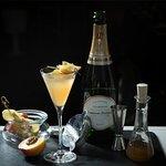 Peach Fizz Cocktail