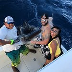 Sailfish fishing @ Caribbean Fishing Academy Charters in San Juan Puerto Rico