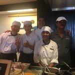 Sous Chef Samart Muesantat and his Team