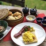 Breakfast at Waka Bar & Restaurant