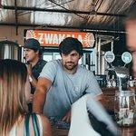Friendly barmen