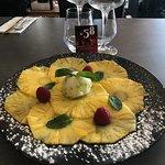 Bistrot 58 - Carpaccio d'ananas