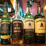 A shot of some Jameson that you can enjoy at our bar!