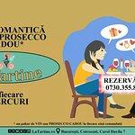 👉 V-ați făcut #REZERVARE pentru #CINĂ #Romantică cu #Vin / #Prosecco #CADOU de #LaTartine #Cotroceni din această seară?