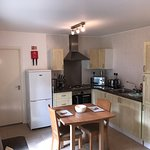 Kitchen of The Cottage at Higher Trewithen Holiday Cottages.