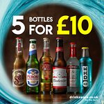 5 selected bottles for just £10