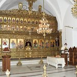 FRONT OF MONASTERY INSIDE