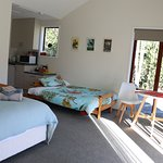 Rata Cottage - newly built Rata Cottage offers a light and airy private space. One queen bed and one fold out futon sofa (double bed), kitchenette and large ensuite (disability dimensions)