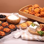 Mediterranean Muffin Collection. 24 muffins in a collection that brings the Mediterranean flavours to your table for breakfast, lunch, and dinner.