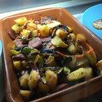 Chorizo, Peppers and Potatoes