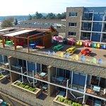 Restaurant Aerial View.