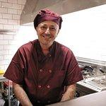 Roberto, nuestro Chef.