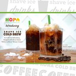 Shave Ice Drink - Cold Brew Coffee