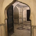 Inside the fort, door are at a right angle to hallways to slow any possible intruders.