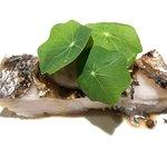 太刀魚と菊芋のピューレ