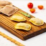 Raviolis y tortellinis