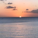 Sunset from the Cliff restaurant in Barbados