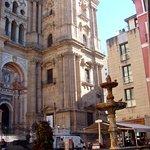 Plaza del Obispo de Malaga Foto