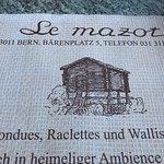 Le Mazot Foto