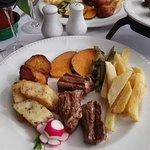 Restaurante O Tapassol Terrace Foto