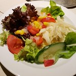 Salad that came with the Kalbstafelspitz