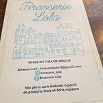 Foto de Brasserie Lola