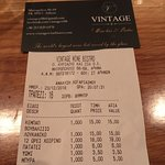 Φωτογραφία: Vintage Wine Bar & Bistro
