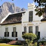 Cape Dutch homestead, Franschhoek, Cape Town, South Africa.