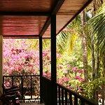 Upstairs rooms at La Marejada Hotel in Playa Grande