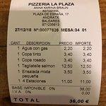 Zdjęcie Pizzeria La Plaza