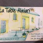 Photo de La Table Alziari