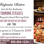 Join our Chefs for our Monthly Cooking Classes.