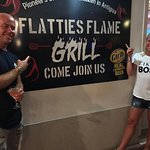 Foto de Flatties Flame grill