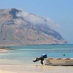 Beach in Qalansiyah village