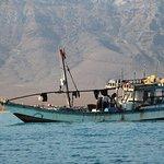 Fishing boat in Socotra