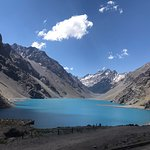 """"""" Laguna del Inca""""is an amazing place that I suggest to visit at least once in your life! To Reach it  you cannot miss the 29 """"caracoles"""" leading you up to this magnificent place in the Andes!"""