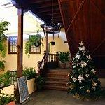 Lobby area leading to reception, Hotel Rural Bentor, Los Realejos, Tenerife.