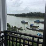 Balcony - Pearl River Hoi An Hotel Photo