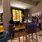 Bar in hotel is lovely it  is  the lobby bar
