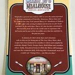 Photo de Marcy Jo's Mealhouse