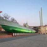 Фотография Мемориальная гвардейская краснознаменная подводная лодка С-56 (Mузей)